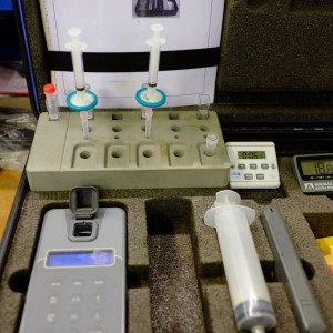 Bactiquant water test kit